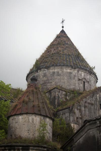 Grass-overgrown dome of the Church of the Holy Redeemer | Sanahin Monastery | Armenia