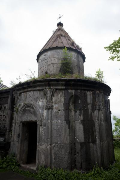 Picture of Sanahin Monastery (Armenia): The circular St. Gregory Chapel is part of the Sanahin complex
