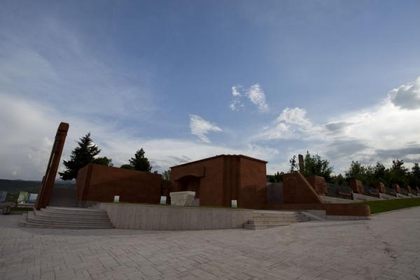 Overview of the memorial complex | Stepanakert Memorial Complex | Armenia