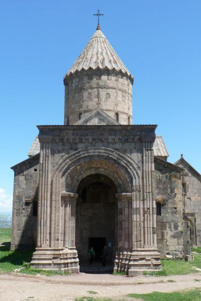 Frontal view of the church of Sts. Paul and Peter in Tatev Monastery | Tatev Monastery | Armenia