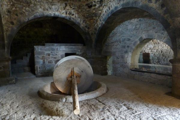 Old oil press at Tatev Monastery | Tatev Monastery | Armenia