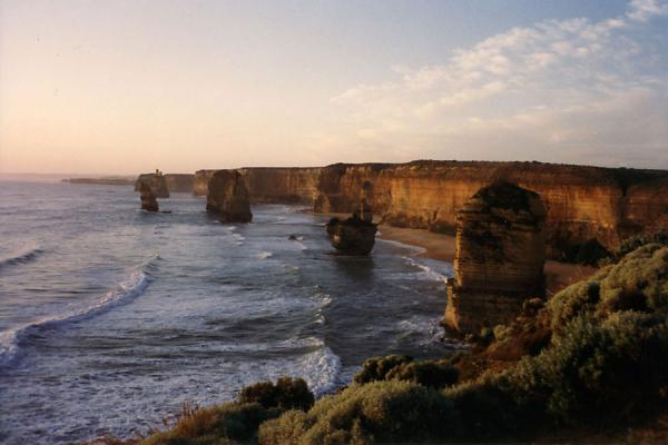 Foto de Overview of the cliffsGreat Ocean Road - Australia