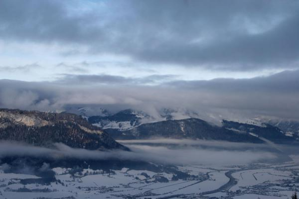 Picture of View of Ache valley from the slopes of St. JohannSt. Johann - Austria