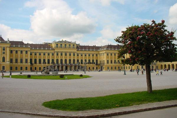 At the entrance of Schönbrunn Palace | Schönbrunn Palace | Austria