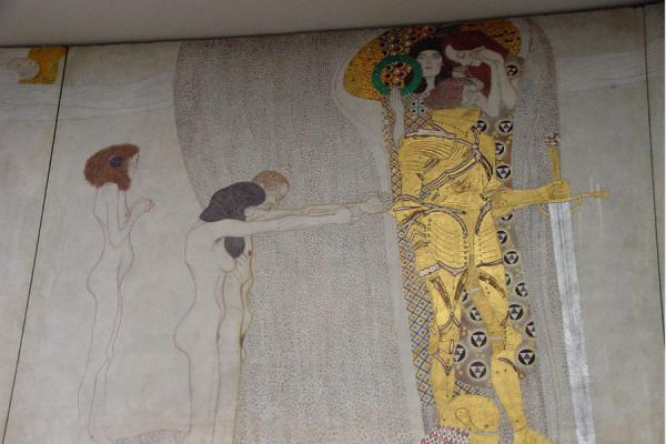 Part of the Beethoven Fries by Gustav Klimt | Secession Museum | Austria