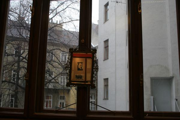 Picture of Sigmund Freud Museum (Austria): Mirror view in Sigmund Freud museum
