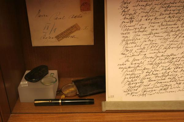 Close-up of some items used by Sigmund Freud | Sigmund Freud Museum | Austria
