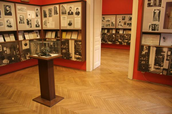 Picture of Sigmund Freud Museum (Austria): Looking into some of the rooms of the Sigmund Freud museum