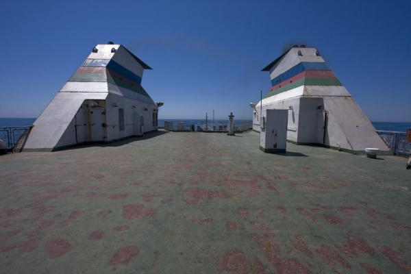 Picture of Sundeck of the ferry - Azerbaijan - Asia