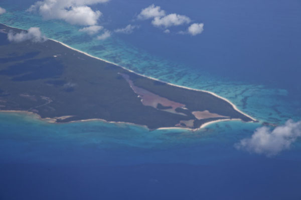Lighthouse Beach and Eleuthera Point seen from the sky | Lighthouse Beach | 巴哈马群岛