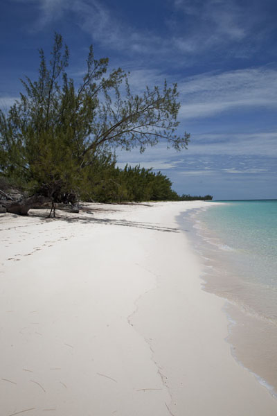 Foto van Port Royal Beach can be found south of Man of War PointMan o War Point - Bahamas