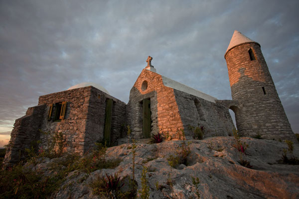 The hermitage of Mount Alvernia at the end of the day | Mount Alvernia Hermitage | Bahamas