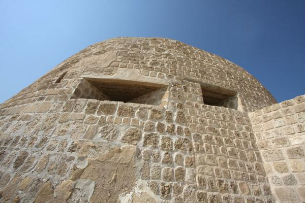 Picture of View of defensive tower from below