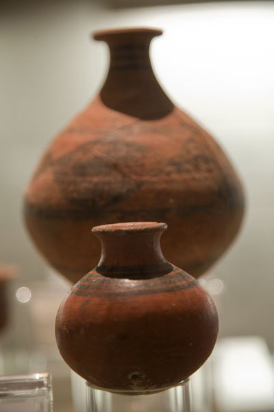 Jars of various sizes on display | Bahrain National Museum | Bahrain