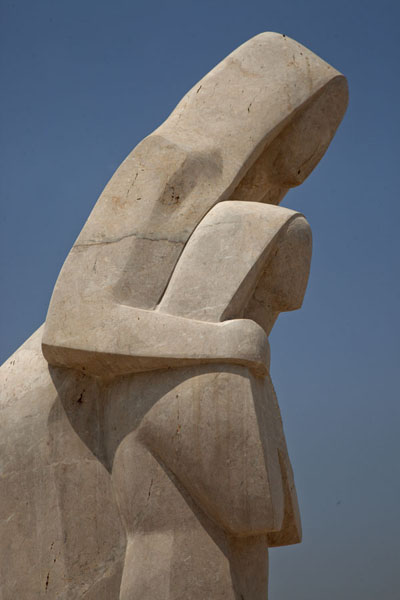 Sculpture outside the museum | Bahrain National Museum | Bahrain