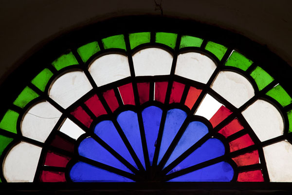 Foto de Stained glass windows in a room on the second floorMuharraq - Bahrein