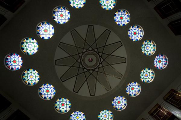 Ceiling of the central hall of Beit al Quran | Beit al Quran | Bahrain
