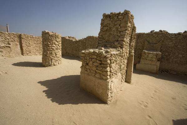 Picture of Saar (Bahrain): Interior of the ancient temple of Saar