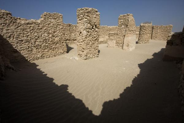 Picture of Saar (Bahrain): Remains of Dilmun temple in Saar