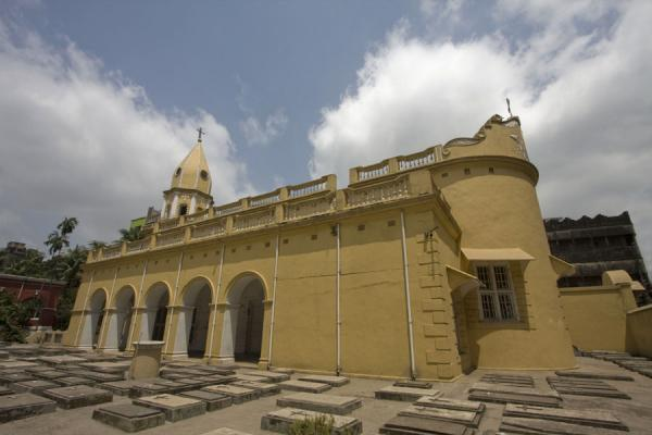 Side view of the Armenian church | Armenian Church | Bangladesh