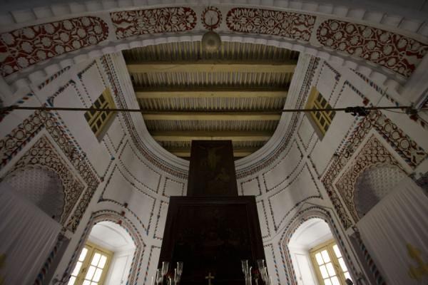 Ceiling of the apse of the Armenia church | Armenian Church | Bangladesh