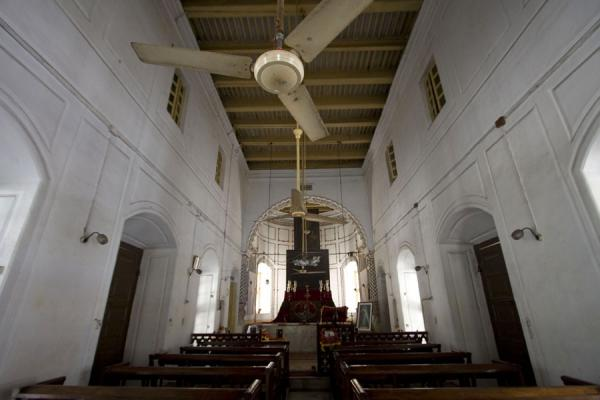 Interior view of the Armenian church | Armenian Church | Bangladesh