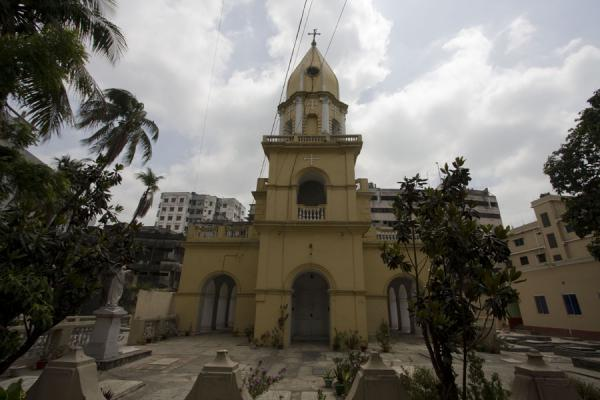 Frontal view of the Armenian church | Armenian Church | Bangladesh