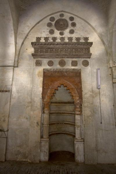 Picture of Shait Gumbad mosque mihrab