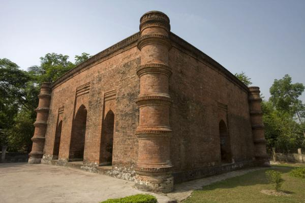 Singar mosque in the morning | Bagerhat mosques | Bangladesh