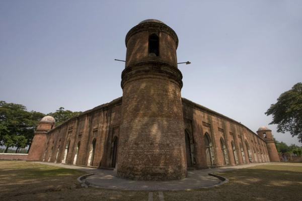 Side view of Shaid Gumbad Mosque | Bagerhat mosques | Bangladesh