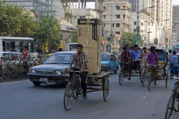 Picture of Bangla Pedal Power (Bangladesh): Taking a fridge for a ride