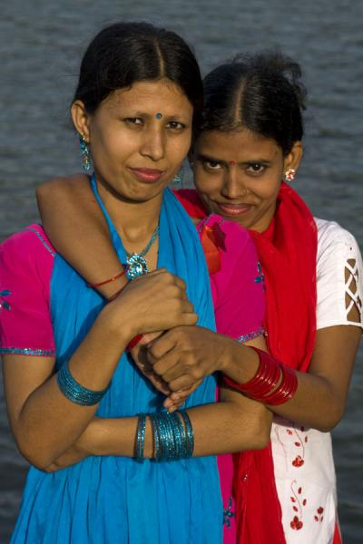 Foto van Girls in Sonargaon - Bangladesh