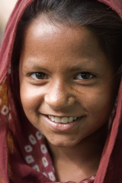 Foto van Young girl in Bangladesh - Bangladesh