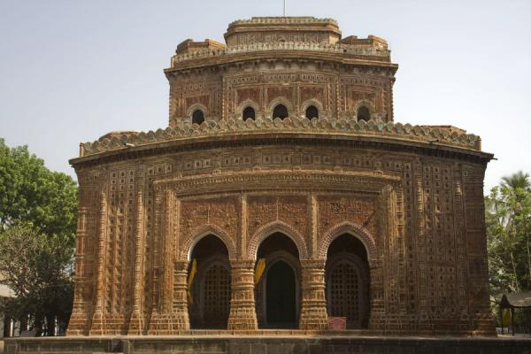 Picture of Kantanagar temple (Bangladesh): Frontal view of Kantanagar temple