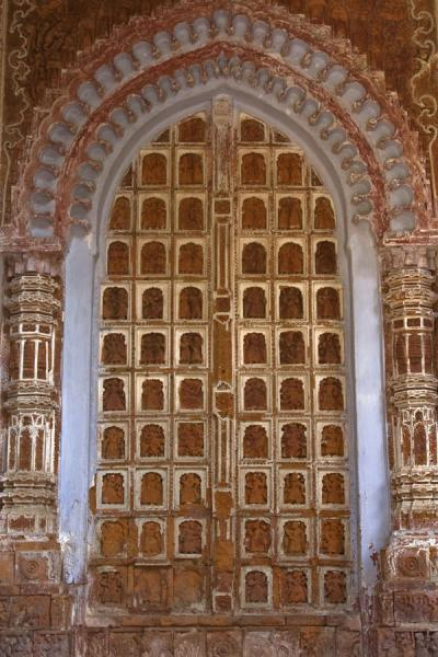 One of the paneled doors of Kantanagar temple | Kantanagar temple | Bangladesh