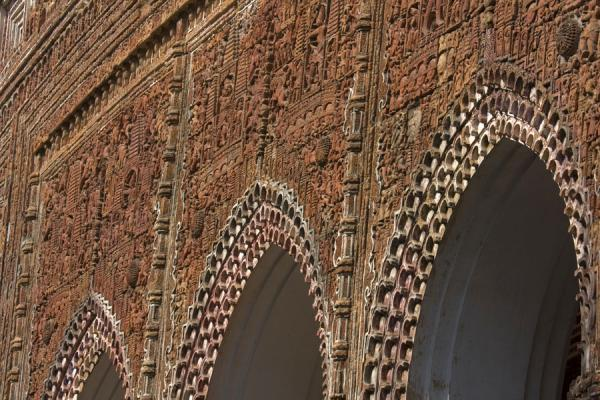 Close-up of arches in Kantanagar temple | Kantanagar temple | Bangladesh