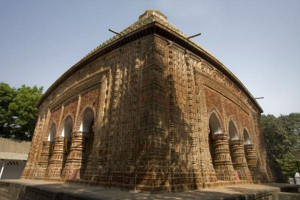 Side view of Kantanagar temple | Kantanagar temple | Bangladesh