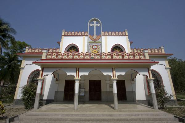 Frontal view of St Paul church | St Paul Church | Bangladesh