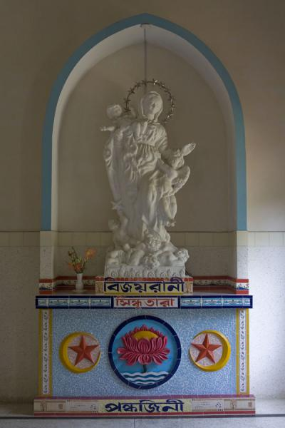 Statue in St Paul church | St Paul Church | Bangladesh
