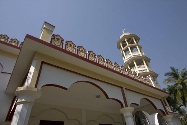 Picture of St Paul Church (Bangladesh): Bell-tower of St Paul church