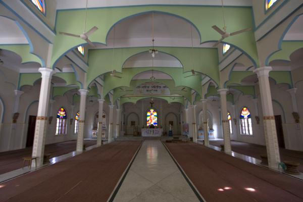 Main prayer hall of St Paul Church | St Paul Church | Bangladesh