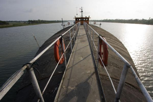 Picture of Rocket boat ride (Bangladesh): Looking at the Rocket from the foremost point of the boat