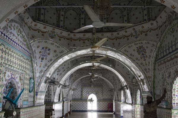 Interior of Sitara mosque | Sitara mosque | Bangladesh