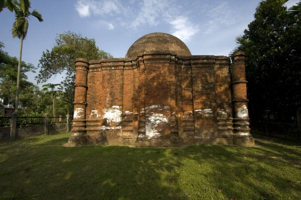 Foto van Goaldi mosque near SonargaonSonargaon - Bangladesh