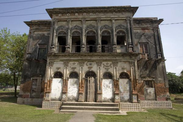 Picture of Richly decorated mansion of Sonargaon