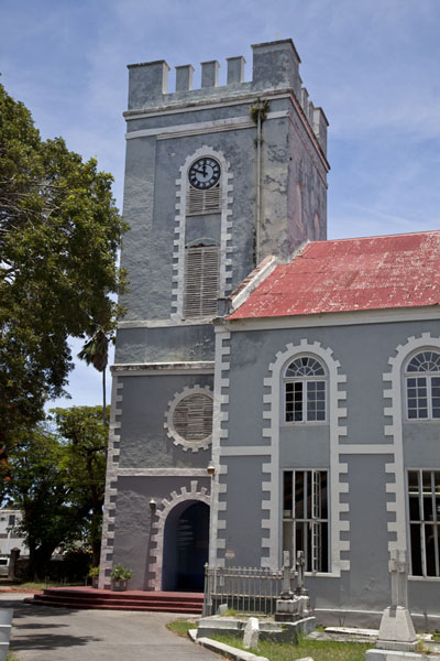 St Mary's church in Bridgetown - 巴贝多