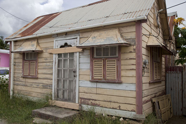 Picture of Typical wooden house in Speightstown - Barbados - Americas