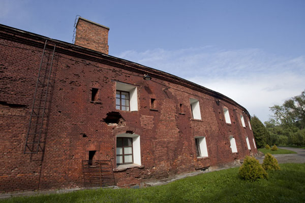 Picture of The outer walls of the barracks in the fortress of BrestBrest - Belarus