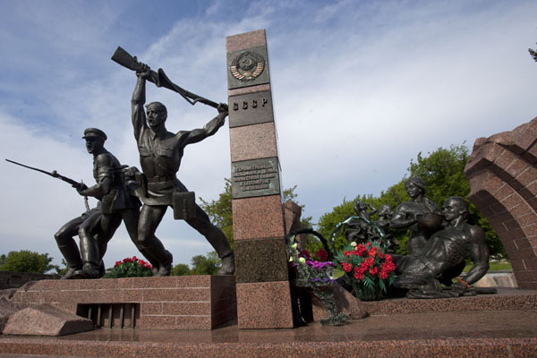的照片 Monument for the soldiers who fought against the Nazis in the Great Patriotic War - 被拉瑞斯