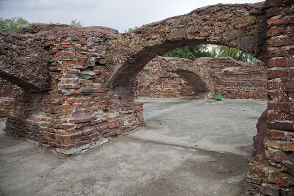 Picture of Ruins of the white palace inside the fortress of BrestBrest - Belarus
